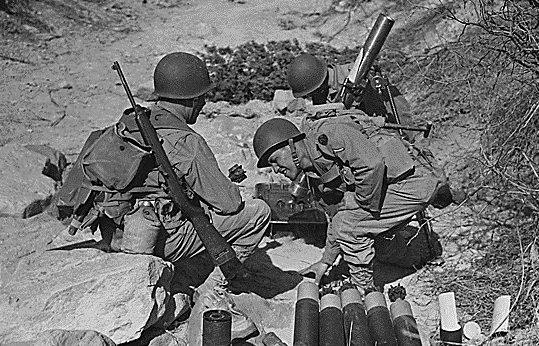 US WW2   La cara...M1 Carbine Ww2