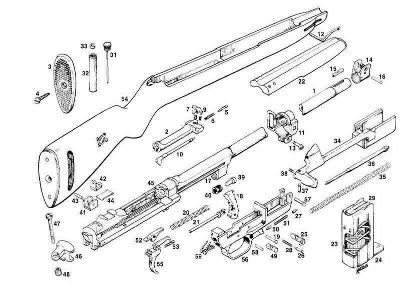 M1 Carbine Parts Schematic Related Keywords Suggestions