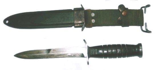 Us Ww2 Le Couteau De Combat Usm3 The Usm3 Fighting Knife