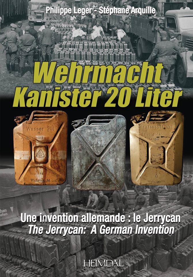 German Canister/ Jerrycan Allemand